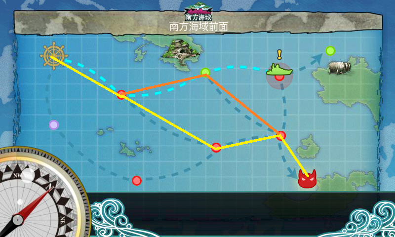 5-1 - 水上打撃部隊南方へ