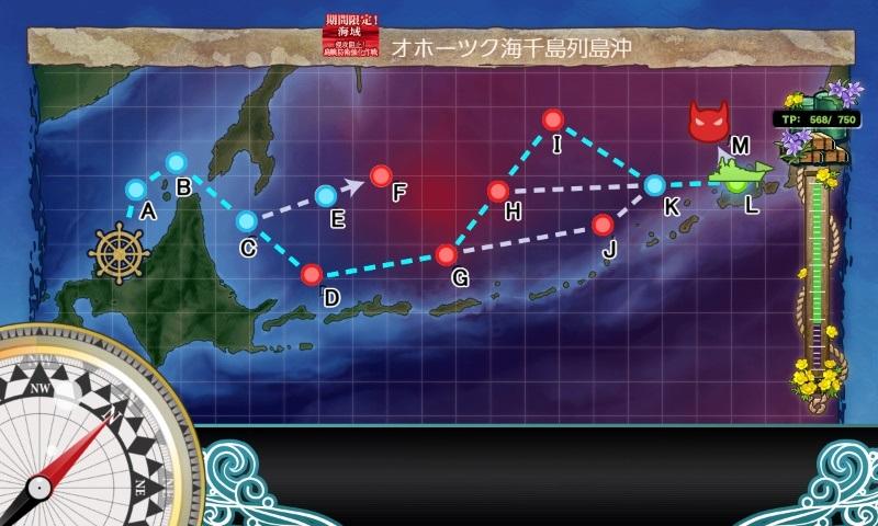 第一海域のマップ